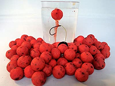 Devour Baits Bloodworm Oozing Pop Up Boilies Carp Fishing Bait 25 X 14mm Pop Ups