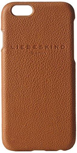 Liebeskind Berlin Vintage Mocap 6 Light Powder Handyhülle für apple iphone 6, Braun (Cognac 8757) - Braune Rand