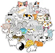 Stickers Big 200-Pack Cute,Sunscreen and Scratch-Proof Trendy Stickers Waterproof Vinyl Stickers Traceless Glu