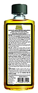 Goo  Gone Original Liquid - Surface Safe Adhesive Remover – Safely removes Stickers, Labels, Decals, Residue, Tape, Chewing Gum, Grease, Tar – 8 oz. from Weiman Products, LLC