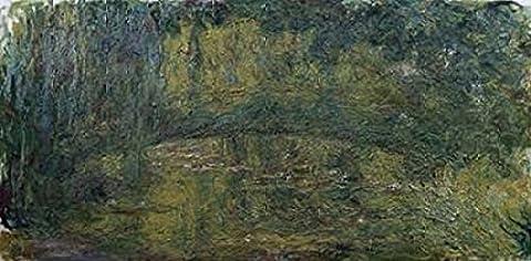 Claude Monet – Le Pont japonais II Kunstdruck (25,40 x 50,80 cm)