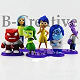 B-Creative Inside out Characters Figures 6pc, BRAND NEW, 6CM TALL,EXPRESS DELIVERY UK