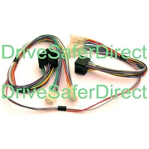 INKA-902876-40-3D Muteadapter / ISO SOT-Adapter, für Parrot CK3100 / CK3200 / MKi9100 / MKi9200, andere ISO-Freihandsets, Toyota Land Cruiser 60 / 70 / 80 / 90 / 100 / 70 / 120 / 200 / 300 / Prado / V8 / Lite Ace / Matrix / MR2 / Optimo / Paseo / Pickup / Picnic / Previa / Tarago / Prius / RAV-4 / Sequoia / Solara / SportsVan / Starlet / Supra / Tacoma / Tercel / Tundra / Urban Cruiser / Van / Verso / Yaris, Volkswagen