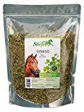 Stiefel Ginkgo 500g Tüte für Pferde für Stoffwechsel, Durchblutung für allgemeines Wohlbefinden
