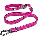 WSAD Haustier Hund Traktion Seil Versorgung Großer Hund Reflektor,Rot,110-200Cm