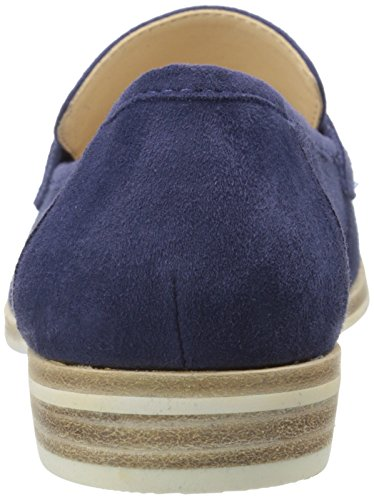 Nine West Antonecia Suede Slip-on Loafer Navy Suede
