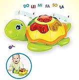 Lustig Kinder Spiele Früherziehung Pädagogisches Baby Spielzeug Musik Schildkröte Legt Eier Spielzeug Geschenke (Bunte) für Kinder von SKNSM