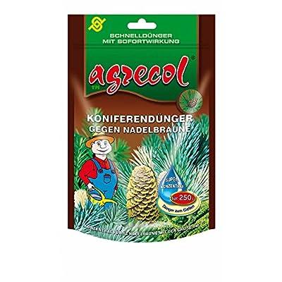Premium Koniferendünger Zypressen Wacholder Nadelbaumdünger gegen Chlorose (Nadelbräune) mit Schnellwirkung - für 250 l Wasser hochkonzentriert und hochergiebig von Agrecol bei Du und dein Garten
