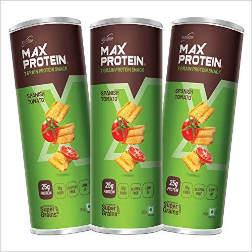 RiteBite Max Protein Chips - Spanish Tomato 450g (Pack of 3)