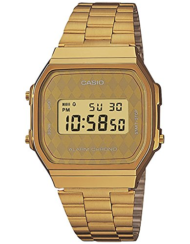 Casio Vintage Collection a168wg-9bvt Armbanduhr, Gold (Casio Uhr Damen Gold Vintage)