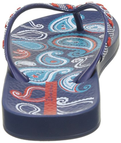 Ipanema - Anat Lovely Vii Fem, Infradito Donna Bleu (Blue/Blue/Orange)