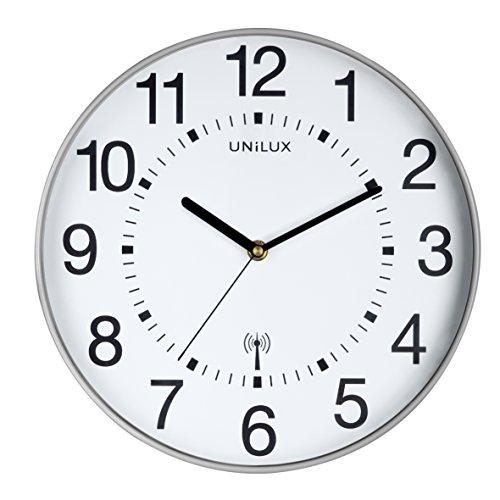 Pendule UNILUX Maxi Wave Technologie Radio Pilotee Adaptation Automatique Horloge Atomique Mainflingen