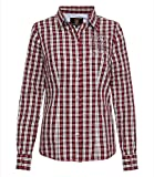 SOCCX Karobluse mit Lurex-Stickereien Dark red L