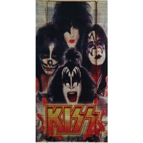 Kiss Vier Gesichter Bambus Rolle bis Rollo (Kiss Band Kostüm)