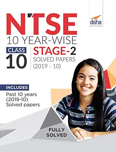 NTSE 10 Year-wise Class 10 Stage 2 Solved Papers (2010 - 19)