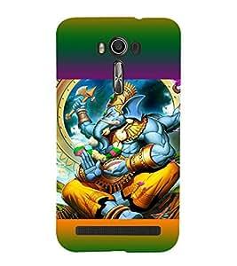 ifasho Designer Back Case Cover for Asus Zenfone 2 Laser ZE601KL (6 Inches) (Ganesh St Petersburg Spiritual Tshirts Pudukkottai)