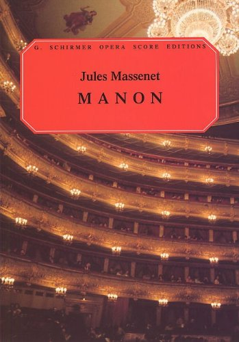 Jules Massenet: Manon (Vocal Score). Par...