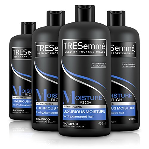 TRESemme Moisture Rich Luxurious Moisture Shampoo, 900 ml - Pack of 4