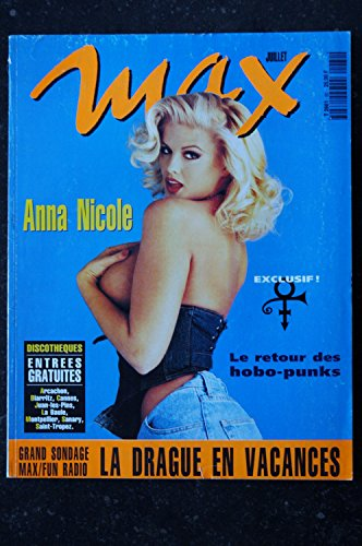 MAX 060 N° 60 ANNA NICOLE INTERVIEW EXCLUSIF PRINCE 8 PAGES PAR UWE KILLING HOBO PUNKS -