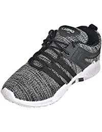 Srijas Sports Black Running Shoe For Men's.