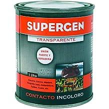 Tesa 62601-00000-08 - Supergen adhesivo contacto incoloro, bote 1 L