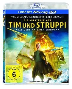 Die Abenteuer von Tim und Struppi - Das Geheimnis der Einhorn [+ Blu-ray]