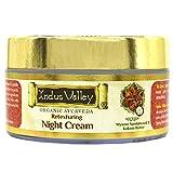 Indus Valley Organic Retexturing Night Cream with Mysore Sandalwood & Kokum Butter For