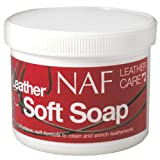 Naf Soft Soap Leather Cleaner With Free Sponge 450G Tack Cleaner Leather Care