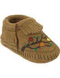 Minnetonka Kids Unisex Free Range Mama We Are Family (Infant) Taupe Boot 1  Infant