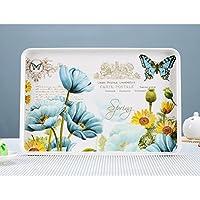 vassoio rettangolare/ tè vassoio/ tè vassoio/Piatti di plastica melamina per uso domestico-B