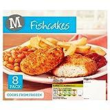 Morrisons Cod Fish Cakes, 400g (Frozen)