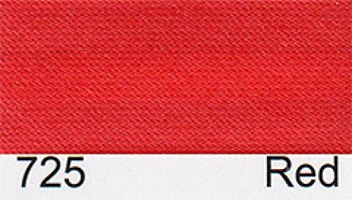 Satin Schrägband 15 mm - (2 M) Rot