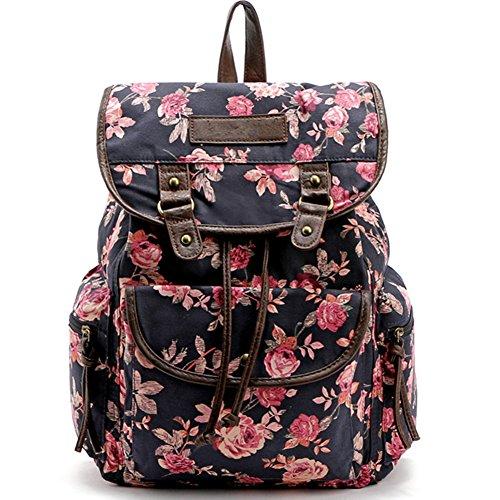 lihi-damen-vintage-mode-leinwand-blumen-tasche-schultertasche-freizeitrucksack-rucksacke-blau-one-si
