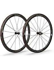 Vision 2 ruedas Trimax Carbon 40 tubulares grosor aro 40 mm para Shimano 10/11