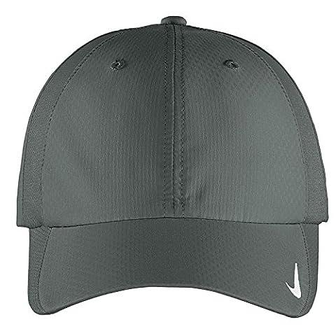 Authentique Nike Sphere Dry rapide Swoosh Profil bas réglable brodé Cap - Charbon
