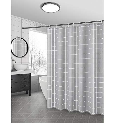 YPYSYL Wasserdichter Duschvorhang Bad WC Dusche dick Anti-Schimmel Partition Schild Set, 1 * 1,8 m, a1 -