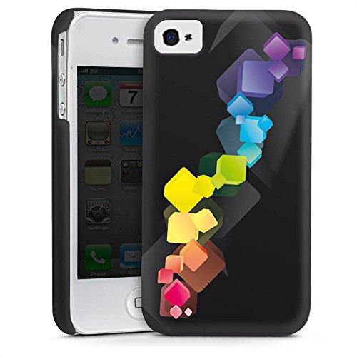 Apple iPhone 5s Housse Étui Protection Coque Dé couleurs Contraste Cas Premium mat