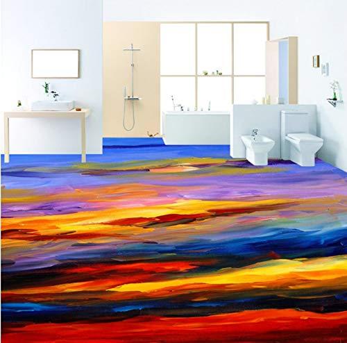 3d Bodenaufkleber Badezimmer Test Wasserlebnis