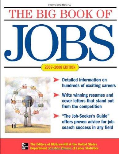 Big Book of Jobs 2007-2008 (English Edition)