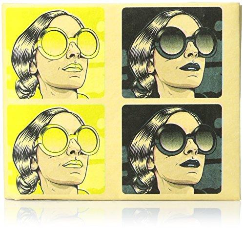 Preisvergleich Produktbild Dynomighty Mighty Tyvek Wallet Brieftasche - CMYK FASHION by Roberlan - Water,  Stain & Tear Resistant