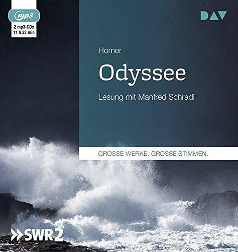 Odyssee: Lesung mit Manfred Schradi (2 mp3-CDs)