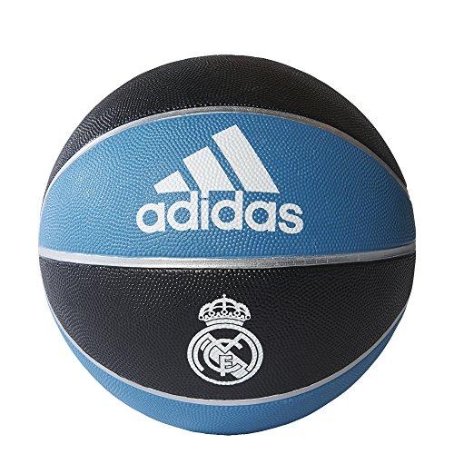 adidas RM Ball Pelota Línea Real Madrid, Hombre, Negro (Negro/Azuint/Blanco), 7