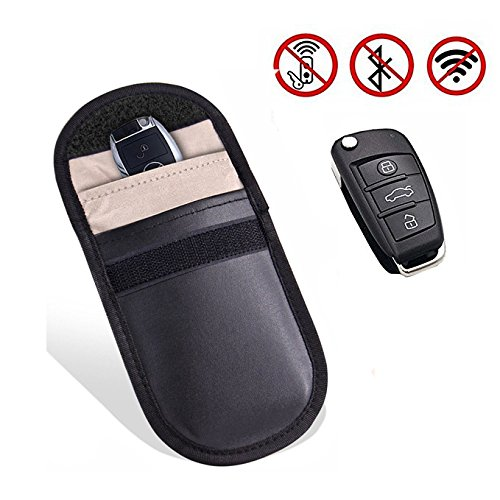 Handy Signal Blocker Blocker Tasche Car Keyless Entry FOB Guard WiFi RF GSM LTE NFC RF Blocker Case Jammer Tasche Beutels Wallet Case Sichtschutz Double Layer