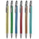 100 Stück Kugelschreiber Gabi Werbekugelschreiber aus Alu mit Gravur Namen Text selbst gestalten