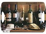 Creative Tops Vintage Wein Luxus Tablett groß mit Griffen, Braun
