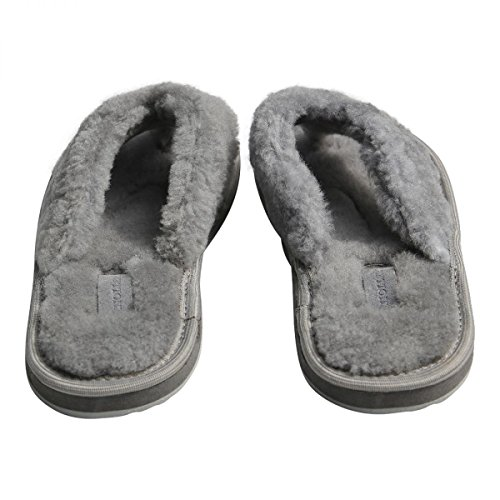 Pelle di pecora Infradito infradito fluffi donna pantofole infradito Infradito vera   6b1263