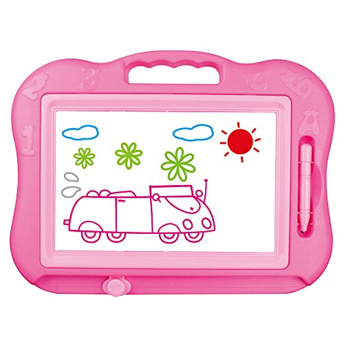 yistu-graffiti-board-219x25x28m-cute-baby-magnetic-writing-painting-drawing-preschool-tool-pink