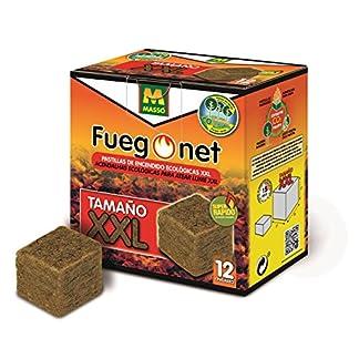 FUEGO NET Fuegonet 231389 Pastillas, Blanco, 12.9×7.5×13.5 cm