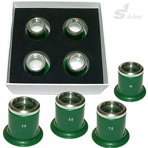 Kit de 4 loupes S1 STRATOS 2.5-10x