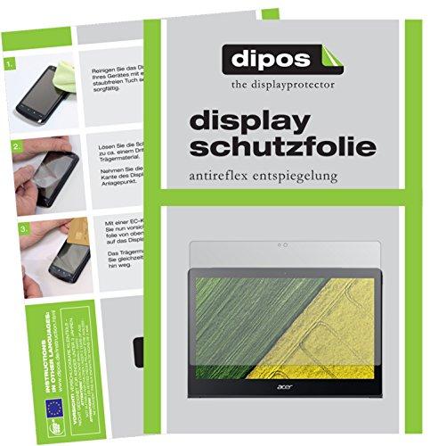dipos I 2X Schutzfolie matt passend für Acer Swift 7 Folie Displayschutzfolie